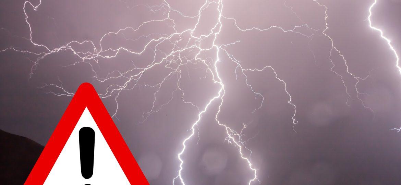Ostrzeżenie meteorologiczne Nr 43 - burze z gradem