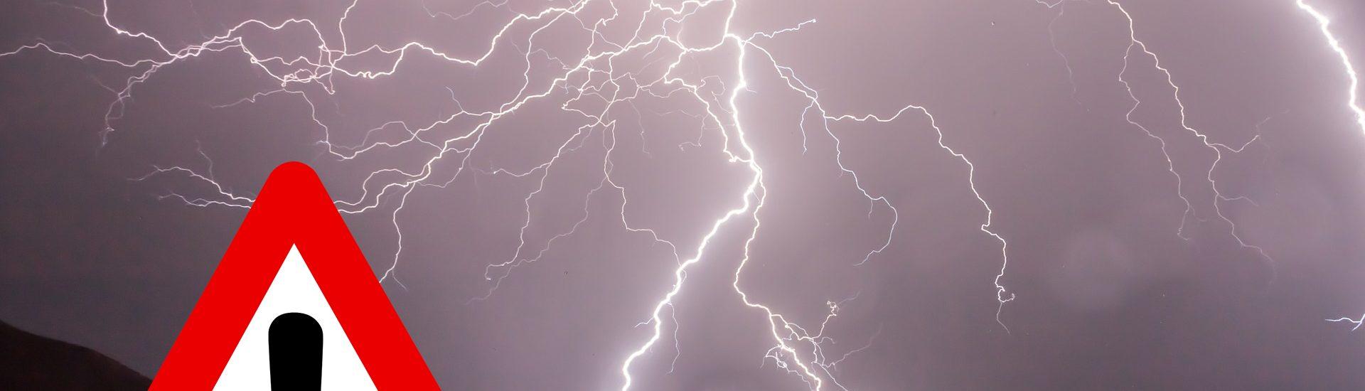 Ostrzeżenie meteorologiczne Nr 64 - burze z gradem