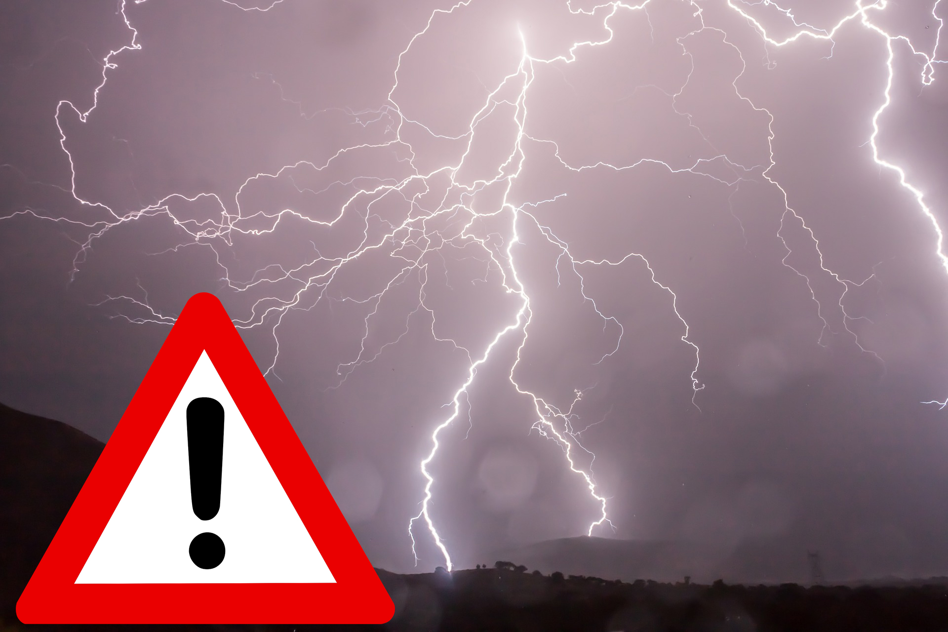 Ostrzeżenie meteorologiczne Nr 42 – burze