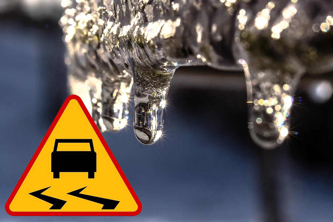 Ostrzeżenie meteorologiczne Nr 6 – opady marznące