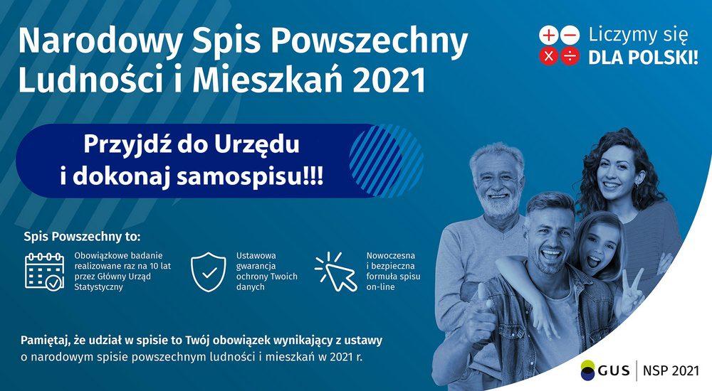 Od 1 kwietnia trwa Narodowy Powszechny Spis Ludności i Mieszkań.