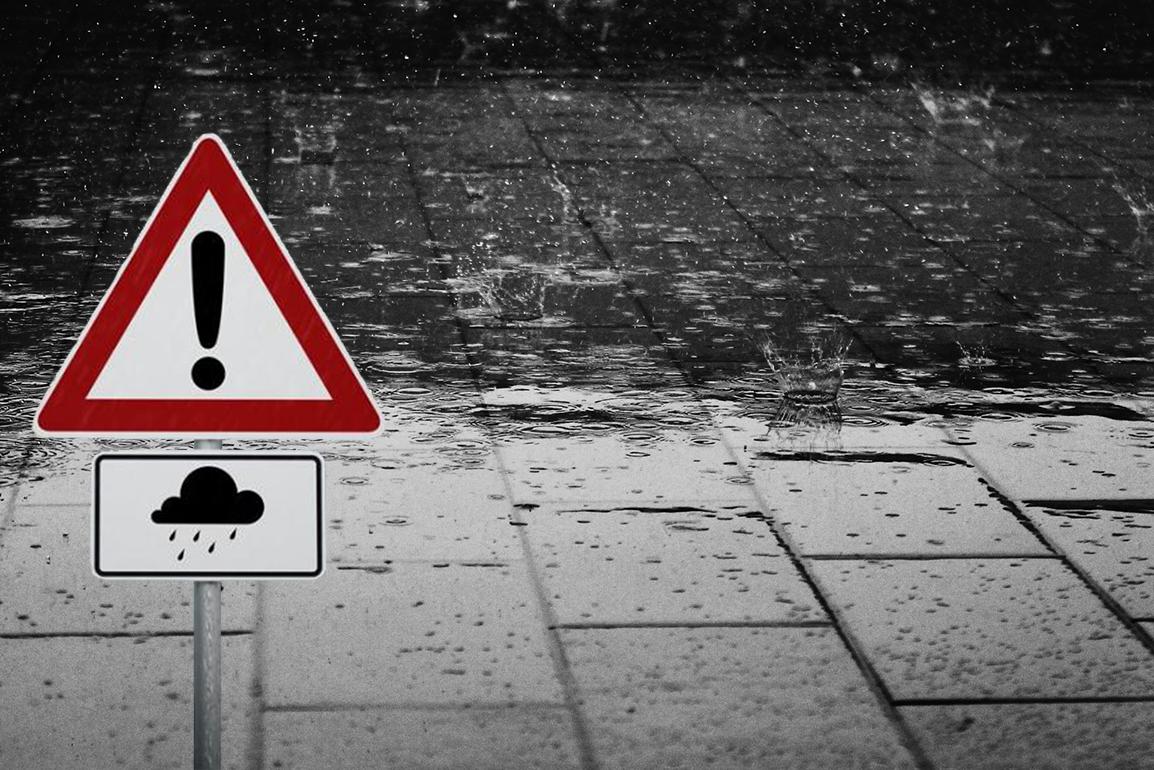 Ostrzeżenie meteorologiczne Nr 85 – Intensywne opady deszczu