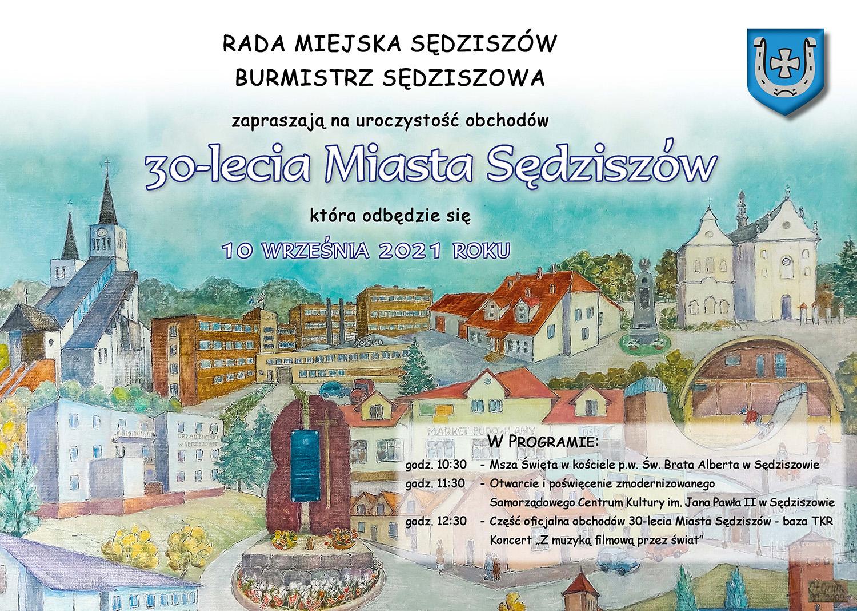 30-lecie Miasta Sędziszów